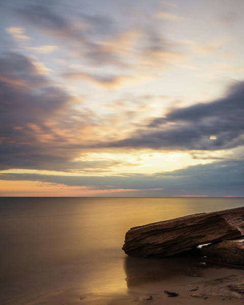 Photograph - Still Water At Cavendish Beach by Chris Bordeleau