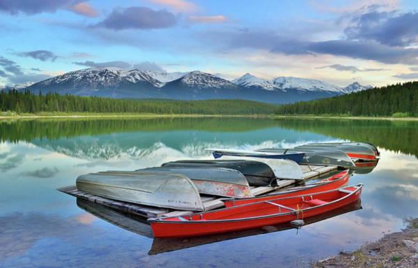 Photograph - Still Waters At Lake Patricia by Tara Turner