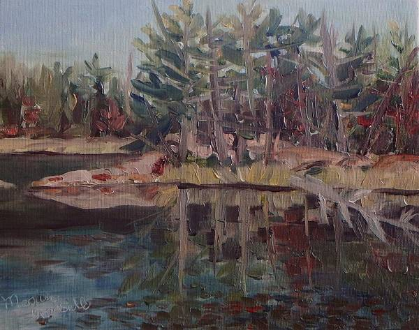 Painting - Still Waters In Killarney by Monica Ironside