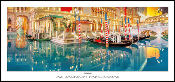 Gondola Photograph - Still Waters Poster Print by Az Jackson