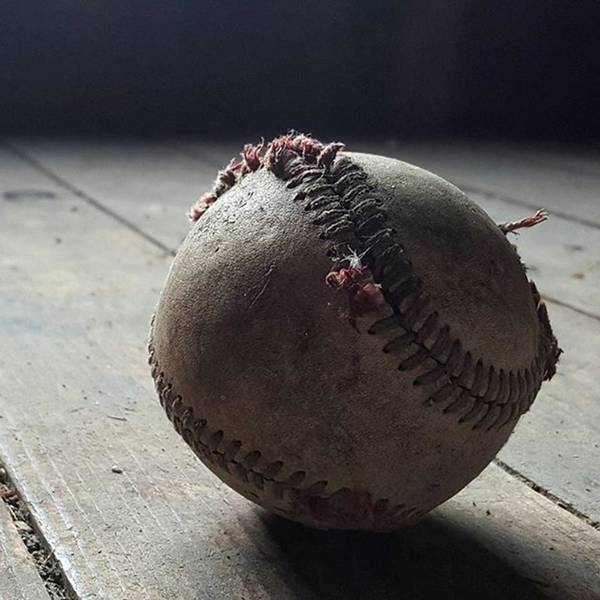 Still Life Wall Art - Photograph - Baseball Still Life by Andrew Pacheco