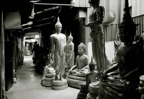 Photograph - Stillness Of The Bangkok Buddhas by Shaun Higson