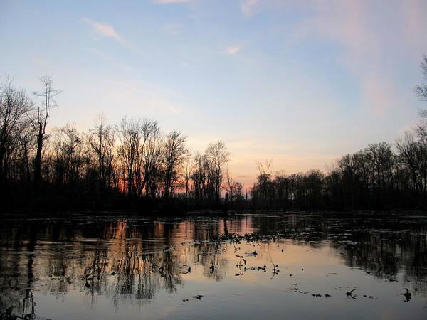 Photograph - Stillness Virginia Waterways by Digital Art Cafe