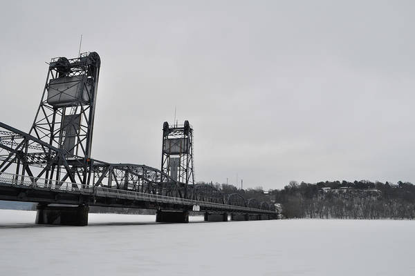 Houlton Photograph - Stillwater Bridge Winter by Kyle Hanson