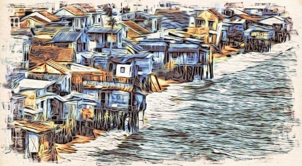 Digital Art - Stiltsville by Cameron Wood