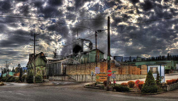 Photograph - Stimson Lumber Mill by Lee Santa