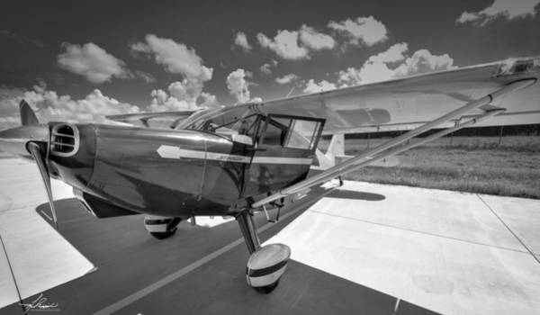 Photograph - Stinson In Black And White by Philip Rispin