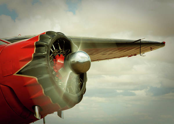 Photograph - Stinson Reliant by SR Green