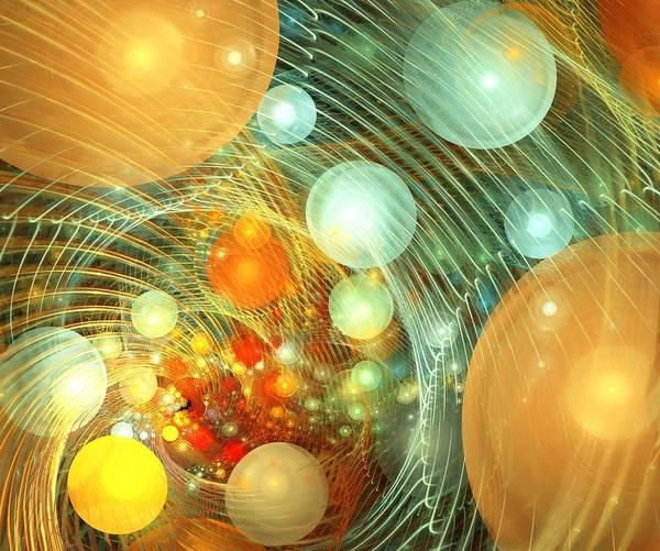 Digital Art - Stirred Up Universe by Anastasiya Malakhova