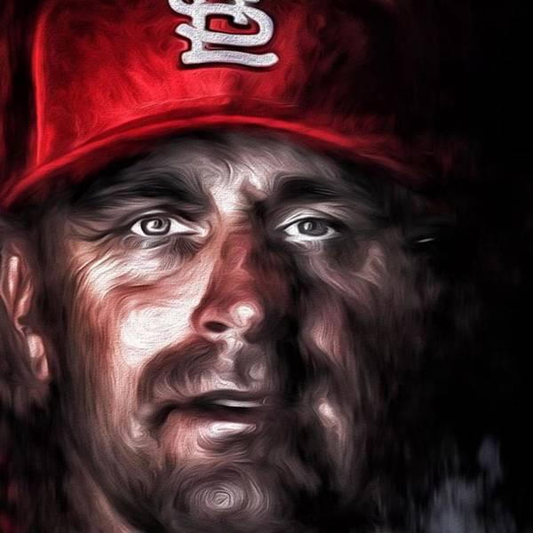 Baseball Wall Art - Photograph - #stlouis #stlouismo #stlouiscardinals by David Haskett II