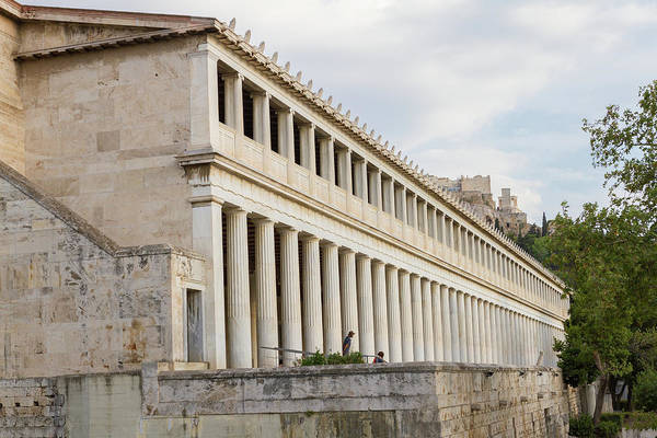 Wall Art - Photograph - Stoa Of Attalos Classical Grandeur by Iordanis Pallikaras