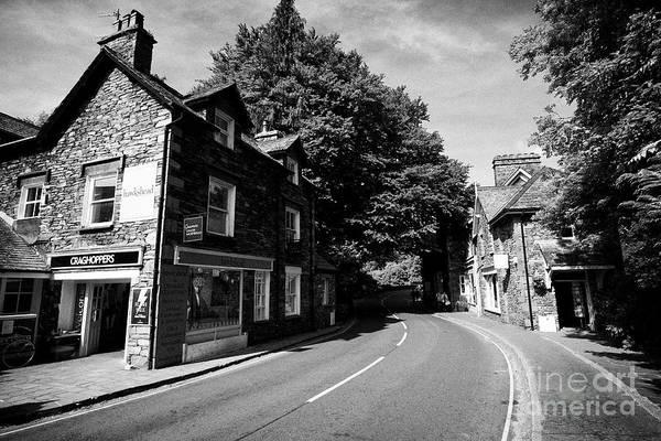Grasmere Wall Art - Photograph - Stock Lane Through Grasmere Lake District Cumbria England Uk by Joe Fox