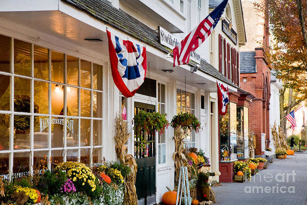 Wall Art - Photograph - Stockbridge Main Street by Susan Cole Kelly