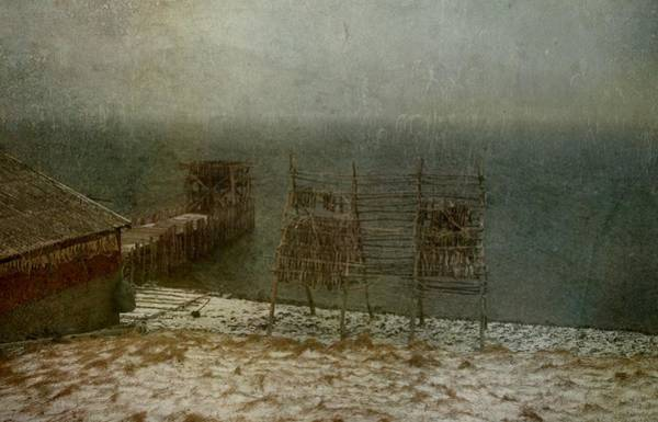Photograph - Stockfish Dryers by Vittorio Chiampan