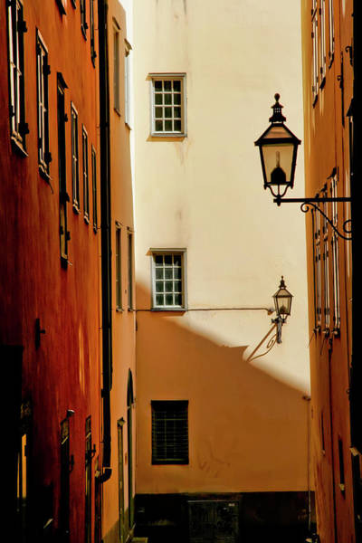 Photograph - Stockholm Alley #2 by KG Thienemann