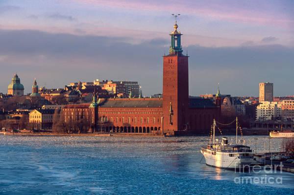 Scandinavian Photograph - Stockholm City Hall by Inge Johnsson