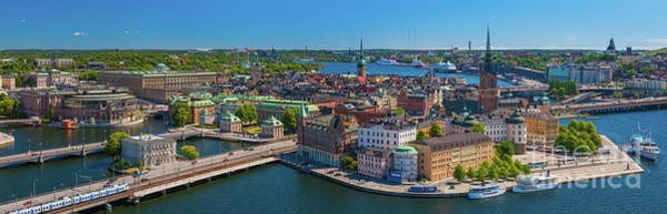 Photograph - Stockholm Panorama by Inge Johnsson