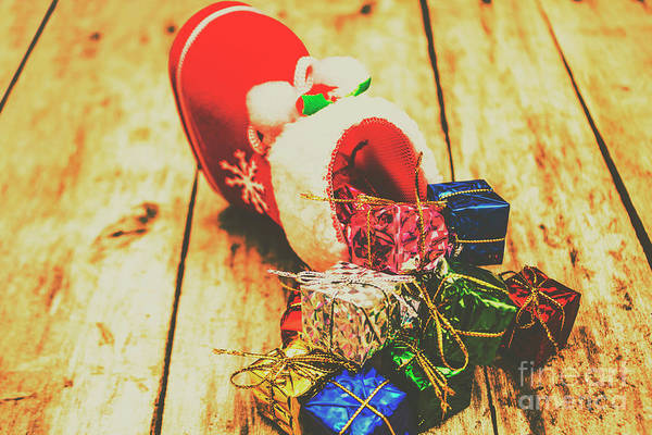 Seasonal Photograph - Stocking Up For Christmas by Jorgo Photography - Wall Art Gallery