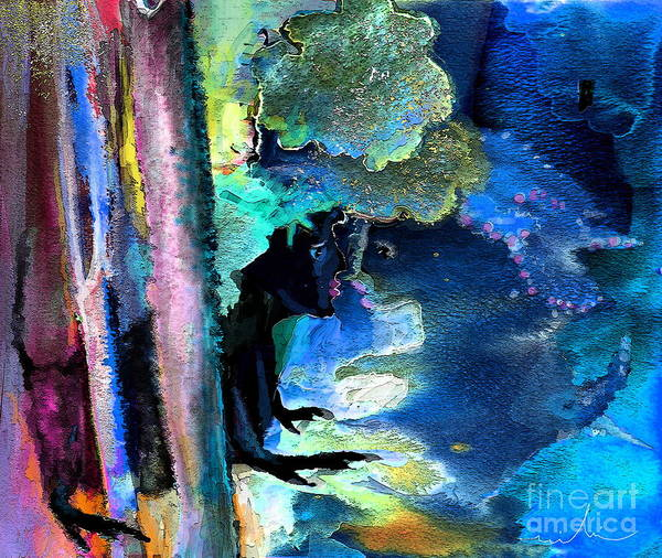 Painting - Stolen Kiss by Miki De Goodaboom