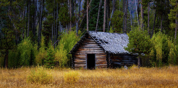 Photograph - Stolle Meadows Cabin by Chris Steele