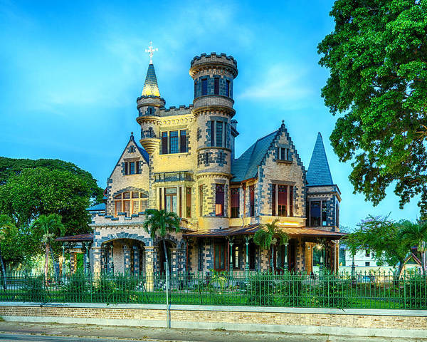Photograph - Stollmeyer Castle Trinidad by Rachel Lee Young