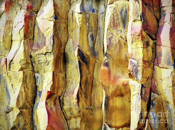 Photograph - Stone Abstract by Tara Turner