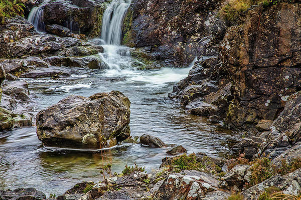 Photograph - Stone And Waterfall #h5 by Leif Sohlman