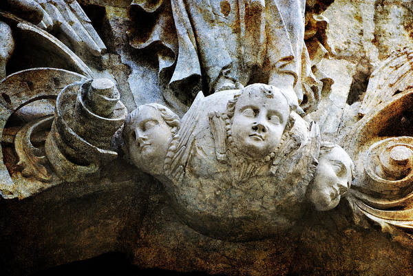 Photograph - Stone Angels by Renee Hong