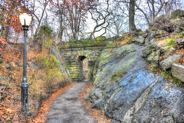 Wall Art - Photograph - Stone Arch At The Ramble In Central Park by Randy Aveille