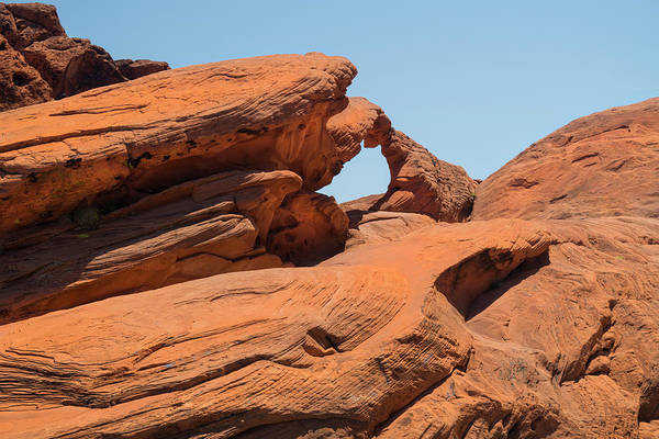 Wall Art - Photograph - Stone Arch Valley Of Fire by Frank Wilson