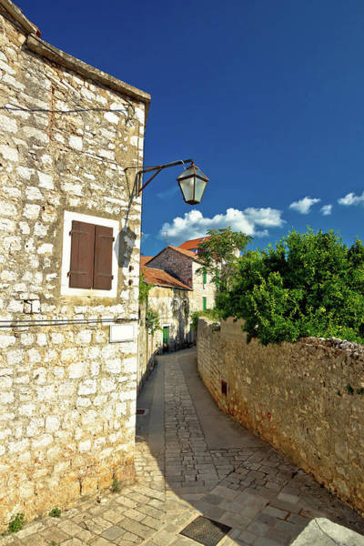 Starigrad Photograph - Stone Architecture Of Stari Grad On Hvar Island by Brch Photography