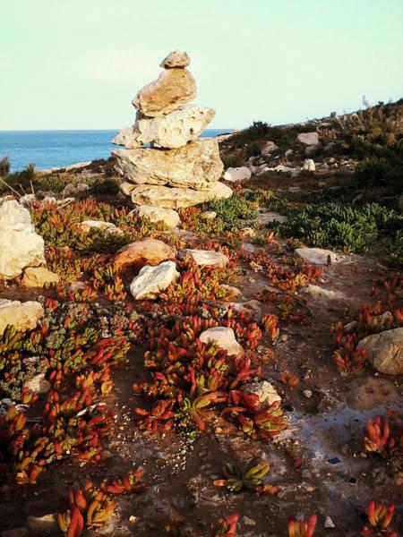 Photograph - Stone Balance by Lucia Sirna
