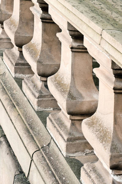 Baluster Wall Art - Photograph - Stone Bannister by Tom Gowanlock