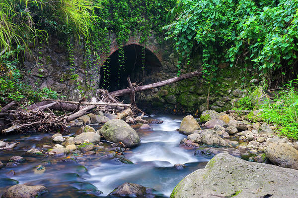 Photograph - Stone Bridge by Christopher Johnson