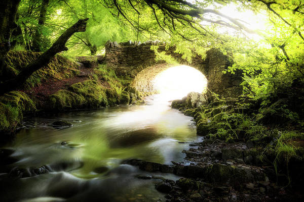 Robbers Photograph - Stone Bridge by Joana Kruse
