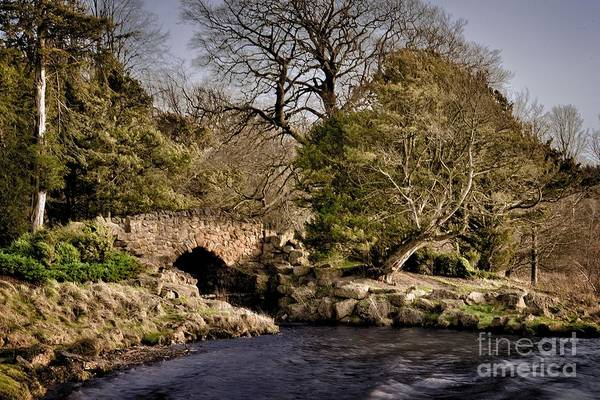 Photograph - Stone Bridge On The Lake by Martyn Arnold