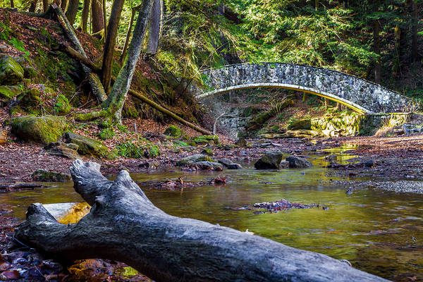 Photograph - Stone Bridge Over Old Man's Creek by Ron Pate