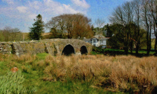 Painting - Stone Bridge - P4a16011 by Dean Wittle