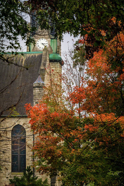 Photograph - Stone Chapel Fall by Allin Sorenson