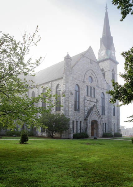 Photograph - Stone Chapel In Fog by Allin Sorenson