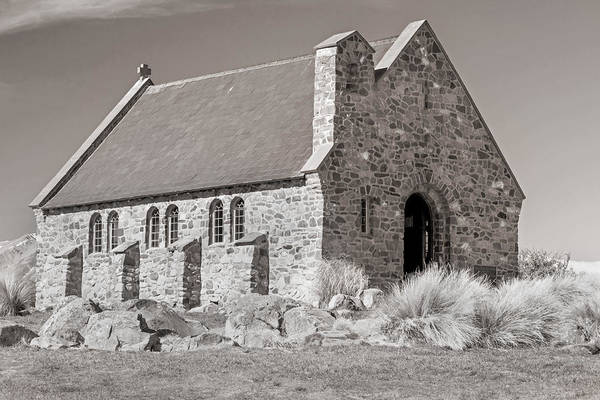 Photograph - Stone Church by Nicholas Blackwell