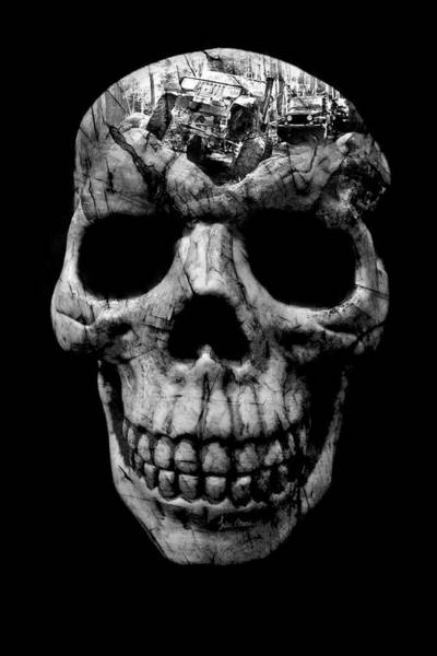 Photograph - Stone Cold Jeeper Skull No. 1 by Luke Moore