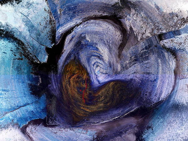 Heartbroken Digital Art - When Love Gives You The Stone Cold Shoulder by Abstract Angel Artist Stephen K