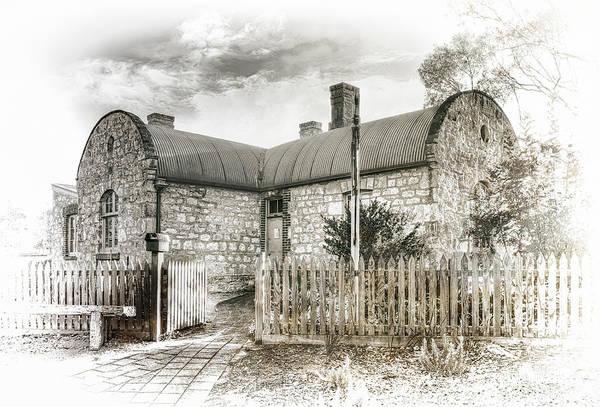 Wall Art - Photograph - Stone Cottage by Wayne Sherriff