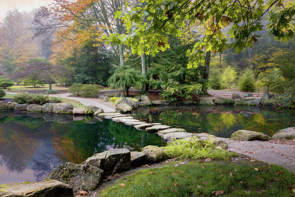 Foliage Photograph - Stone Crossing by Tom Mc Nemar