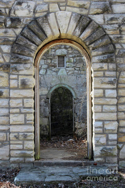 Works Progress Administration Photograph - Stone Doorway Ruins  by Adam Long