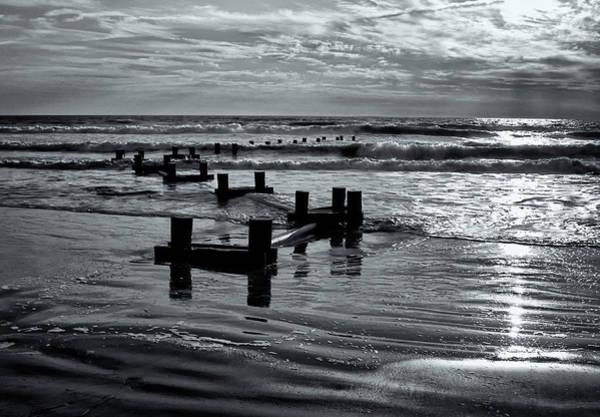 Photograph - Stone Harbor Sunrise by Tom Singleton