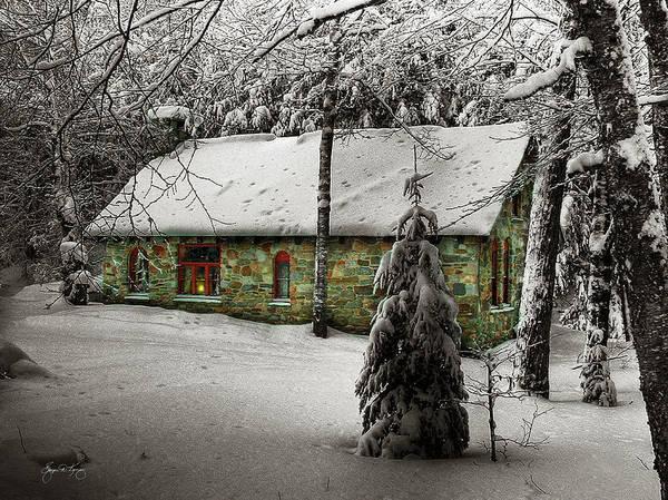 Photograph - Stone House Mindscape by Wayne King