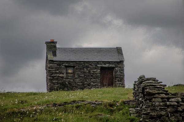 Photograph - Stone House On A Hill by Teresa Wilson