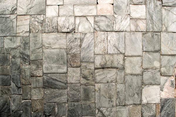 Photograph - Stone Masonry Wall by John Williams